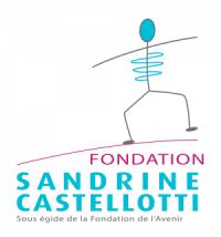 Logo de la Fondation SandrineCastelloti 2017