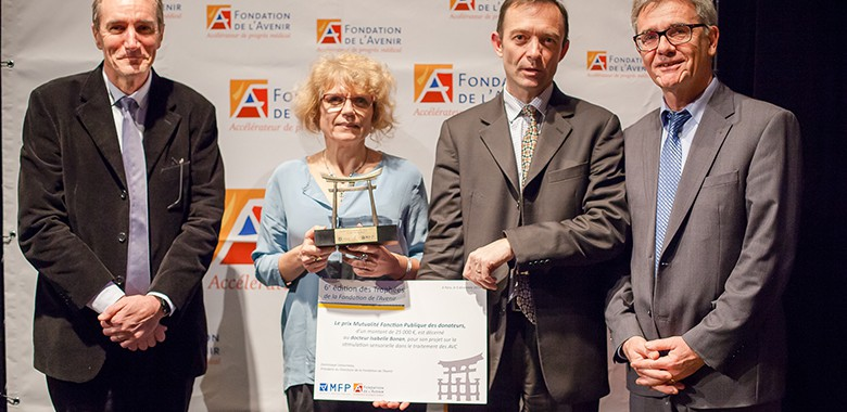 Prix MFP des donateurs 2014 - professeur isabelle bonan