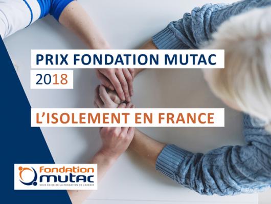 PRIX MUTAC 2018