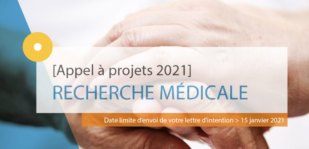 La Fondation de l'Avenir lance son appel à projets de recherche médicale appliquée 2021
