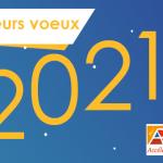 Fondation de l'Avenir-Carte Voeux 2021